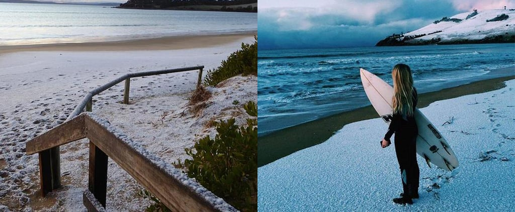 Sea Level Snow in Tasmania