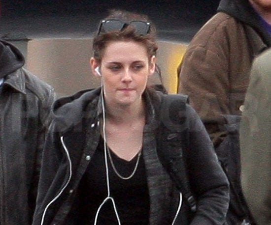 Slide Photo of Kristen Stewart Arriving in LA After Attending the Sundance Film Festival