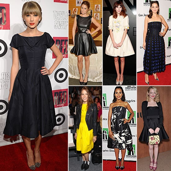 The fit-and-flare silhouette is one of the hottest Fall trends. We took you from Monday to Sunday with our favorite celebrity looks.