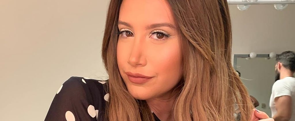 Ashley Tisdale's Frosty White Eyeliner Photo