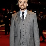 Simon Pegg arrived at the Munich premiere of Mission: Impossible — Ghost Protocol.