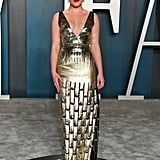 Florence Pugh at the 2020 Vanity Fair Oscars Afterparty