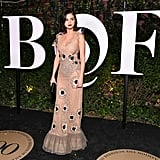 Selena Gomez Rodarte Dress at Business of Fashion Gala
