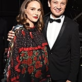 Pictured: Natalie Portman and Jeremy Renner