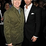 Chris Pine With His Dad Pictures