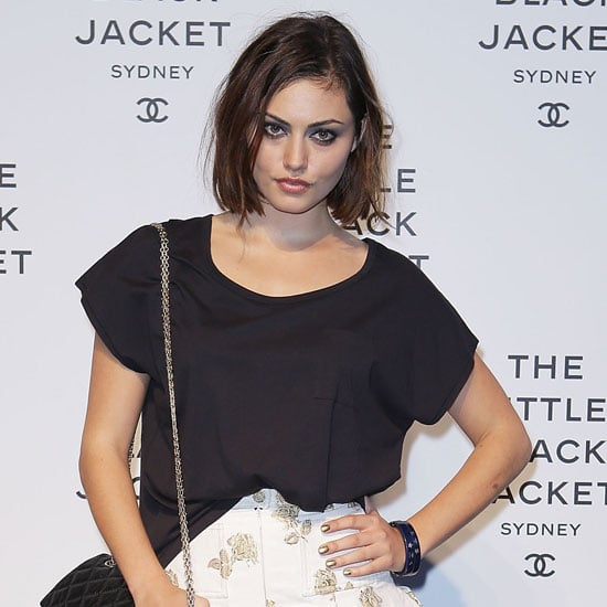 Phoebe Tonkin's Hair and Beauty Look at Chanel Event
