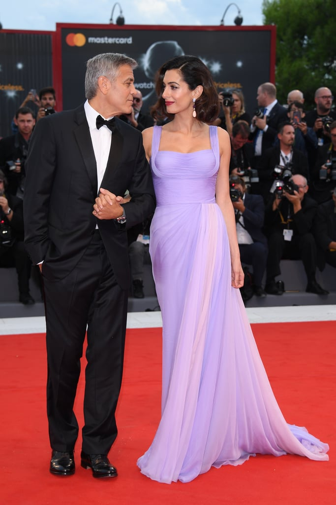 Amal Clooney Wore Atelier Versace to the Venice Film Festival