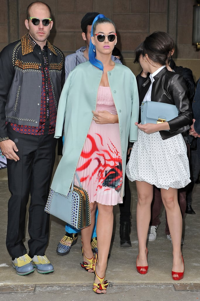 Katy Perry at Miu Miu