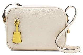 J.Crew Signet Leather Crossbody Bag