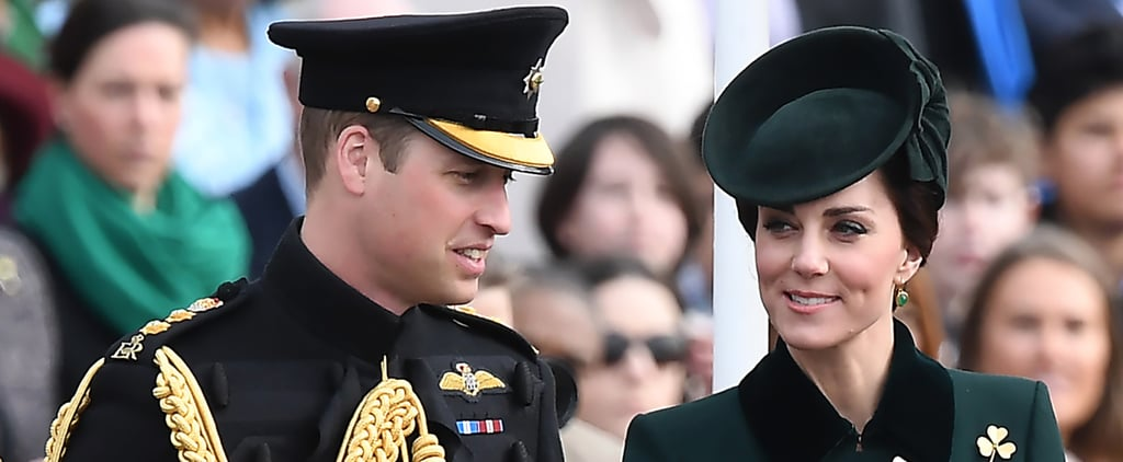 Prince William Returns From Controversial Ski Trip to Celebrate St. Patrick's Day