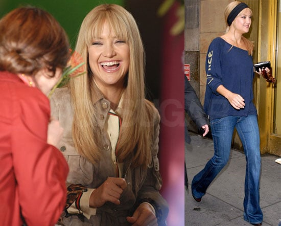 Kate Hudson on the Set of Bride Wars