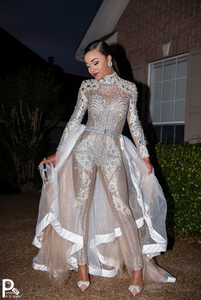 This Teen Channeled the Kardashians at Prom — Naturally, Her Look's Now Going Viral