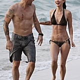 Pictures of Megan Fox and Brian Austin Green in Hawaii