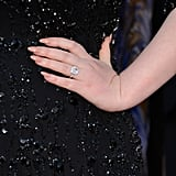 A Close Up Look At Adele's Ring and Manicure