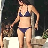 Courteney wore her bikini during a relaxing day in Cabo.