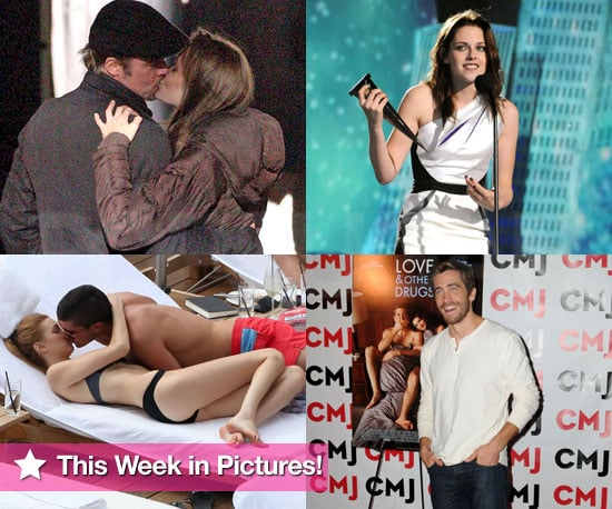 Brad Pitt, Angelina Jolie, Kristen Stewart, and More in This Week In Pictures!