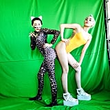 Miley Cyrus had a photo shoot with her sister Noah. Source: Instagram user mileycyrus
