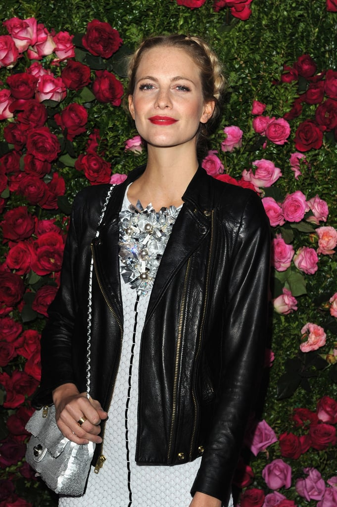 Poppy Delevingne attended the Chanel dinner party at the 2012 Tribeca Film Festival.