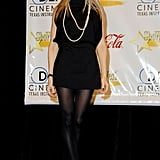 SJP's all-black ensemble, adorned with a few strands of polished pearls, would have made Audrey Hepburn proud.