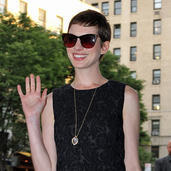 Anne Hathaway Engaged Celebrity Save The Dateanne: Anne Hathaway Catwoman Interview On Today Show