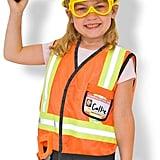 Melissa & Doug Kids Construction Worker Dress-Up Set