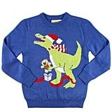 Girl's T-Rex Sweater