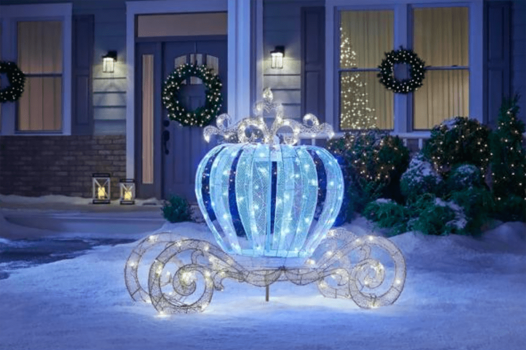 Buy Home Depot's Sparkling Carriage Decorations