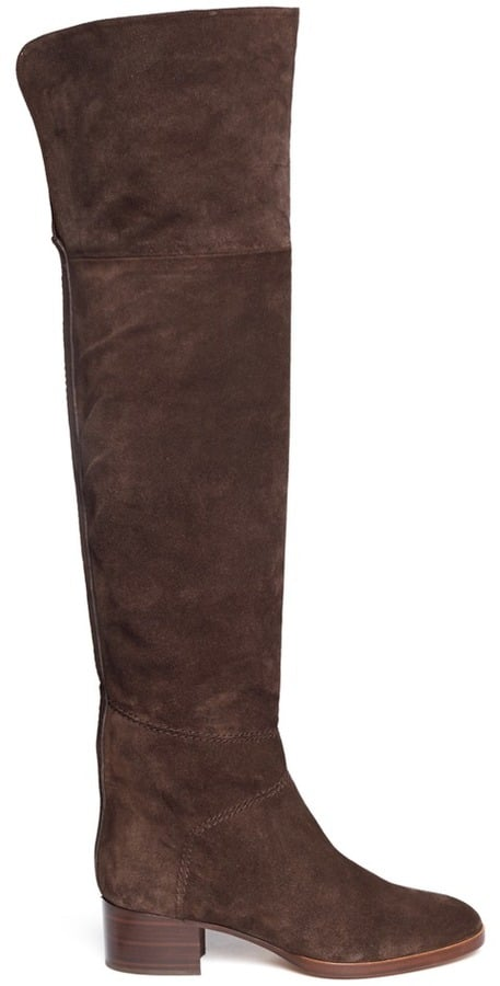 Chloé Sonia Zip Suede Thigh High Boots ($1,765)