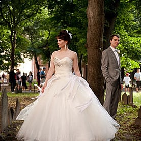 Funeral Home Wedding Trend