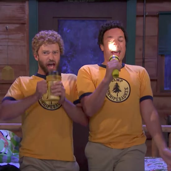 Justin Timberlake and Jimmy Fallon Camp Sketch August 2017
