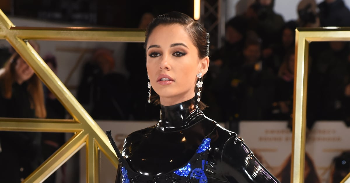 If You Don't Mind, I'd Like to Discuss Naomi Scott's Latex Charlie's Angels Premiere Dress