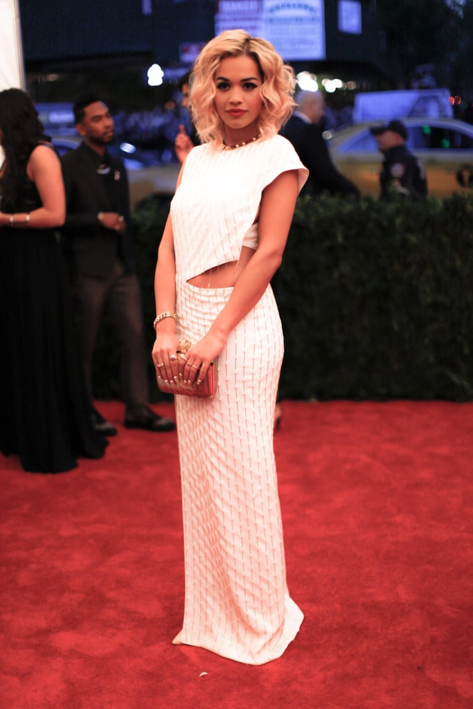 Rita Ora wore Thakoon to the 2013 Met Gala. Julian Mackler/BFAnyc.com