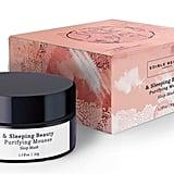 Edible Beauty & Sleeping Beauty Purifying Mousse - Pink Clay Sleep Mask