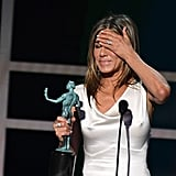 Photos of Jennifer Aniston's SAG Awards Speech