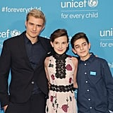 Attending UNICEF's 70th Anniversary Event With Orlando Bloom in 2016