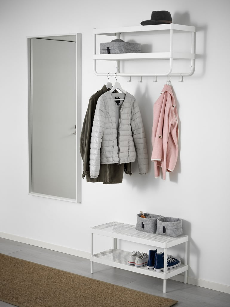 Closet organization products from ikea popsugar home for Ikea coat and hat rack