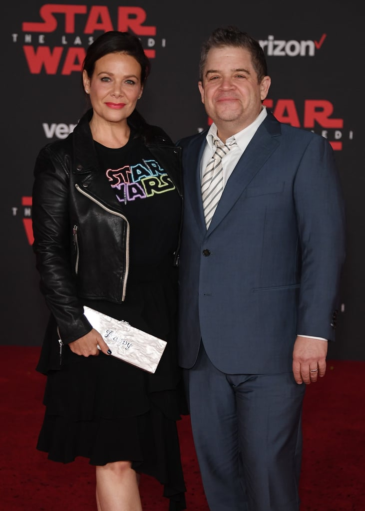Pictured: Meredith Salenger and Patton Oswalt