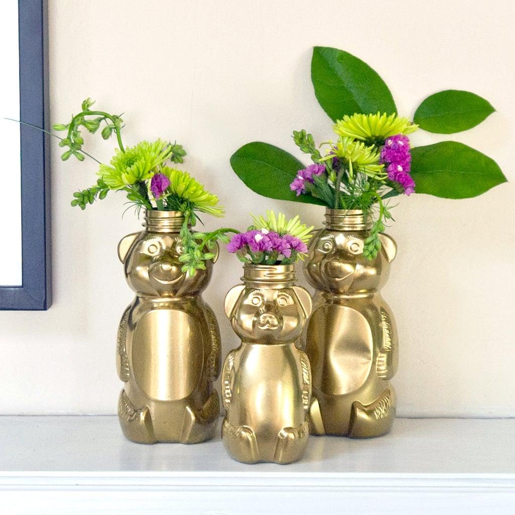 DIY Painted Honey Bears