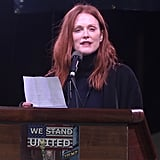 Celebrities at the We Stand United NYC Rally January 2017