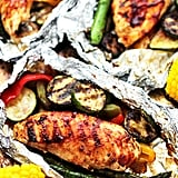 Grilled Barbecue Chicken in Foil