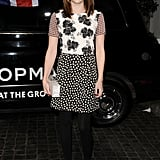 Emma Roberts had fun with patterns.