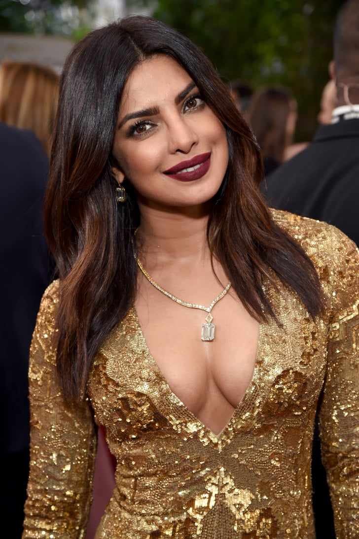 Priyanka Chopras Makeup And Hair At The Golden Globes -2693