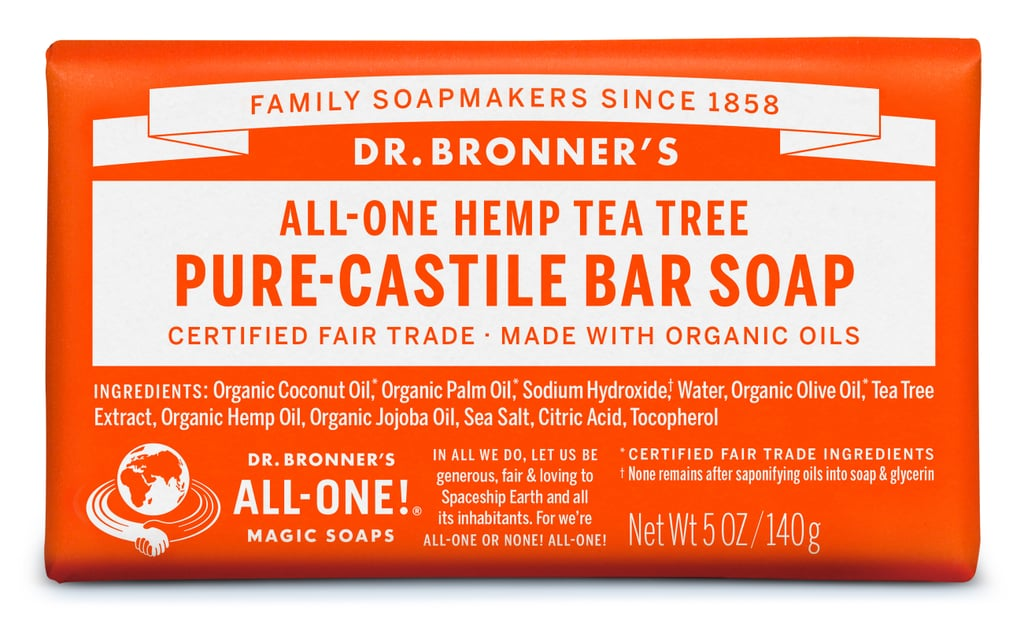 Dr. Bronner's All-One Hemp Tea Tree Pure Castile Bar Soap