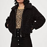 H&M Faux-Fur Jacket