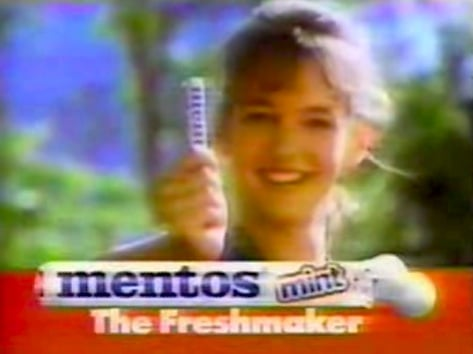 Foodie Flashback: Check Out This Classic Mentos Car Ad