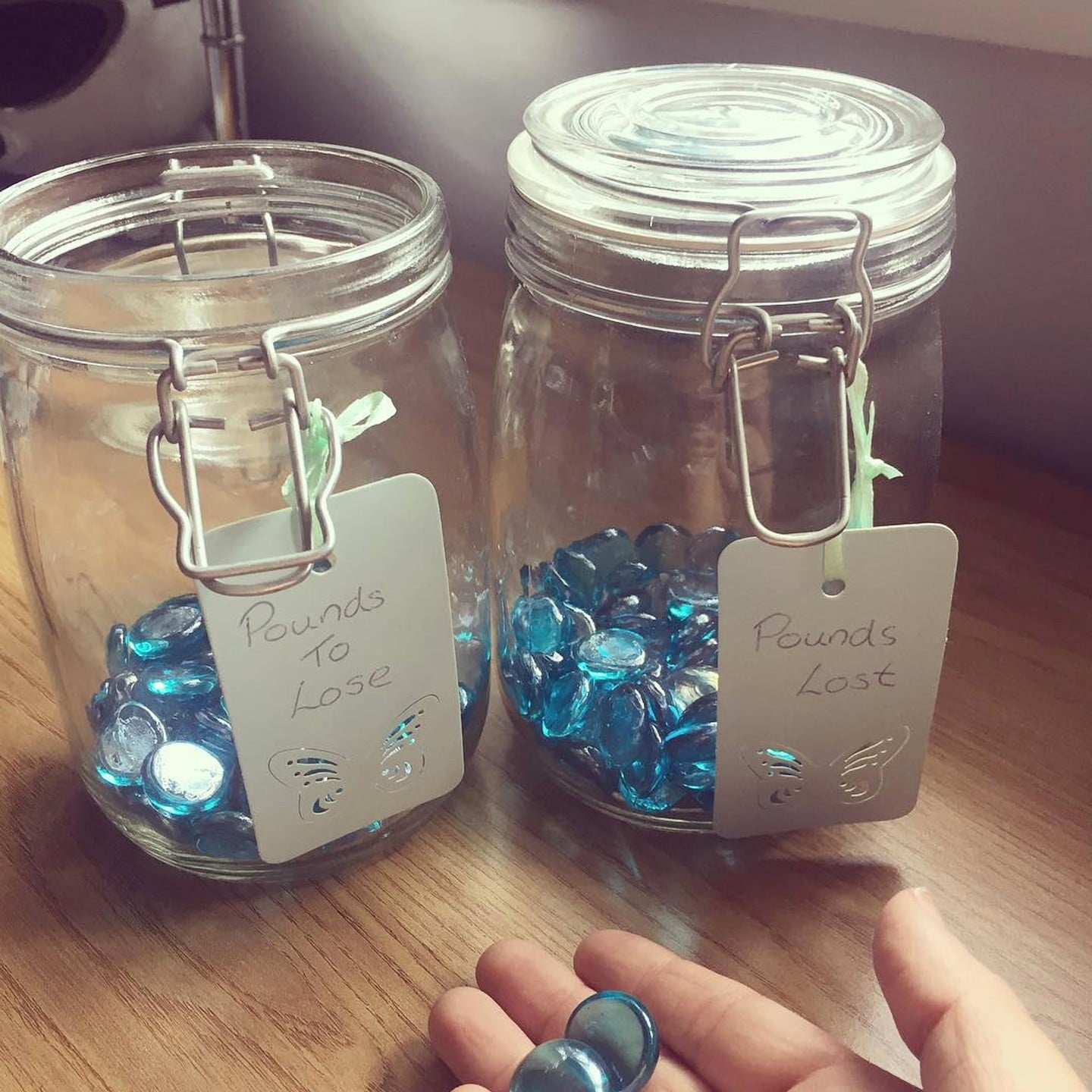 How To Use Marble Jars For Weight Loss Popsugar Fitness