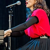 "Regina Spektor played her hit ""Fidelity."""