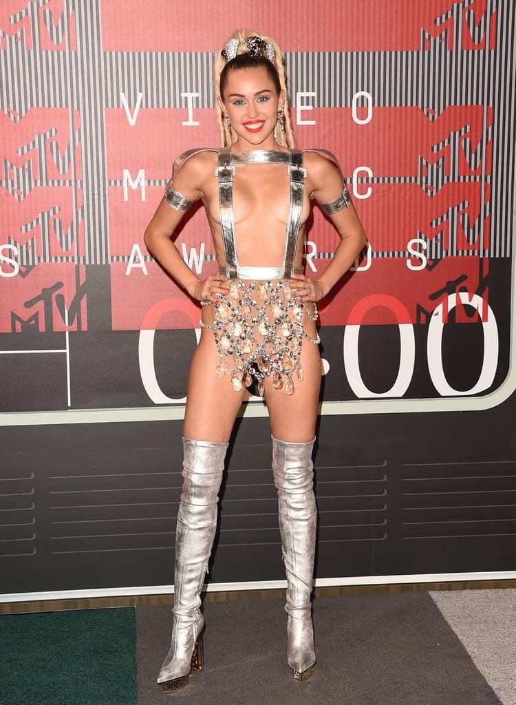 Miley Cyrus's Memorable VMAs Outfits