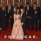 Nick Jonas and Priyanka Chopra at Isha Ambani's Wedding