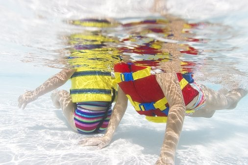 When Did Your Child Begin Swimming?